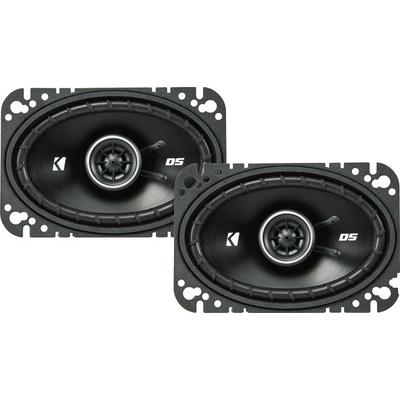 "Kicker 43DSC4604 4""x 6"" 2-way Speakers"