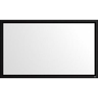 Gamma White Gamma matte white material with screen gain of 1.1,16:9 aspect ratio; designed for use with HD projectors,screen ships unassembled
