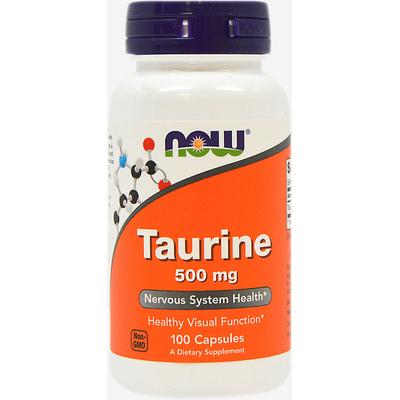 NOW Foods Taurine 500 mg-100 Capsules