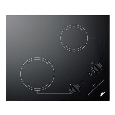 Summit CR2B121 2 Burner Electric Cooktop - 20 x 16, Ceramic, 115v on Sale