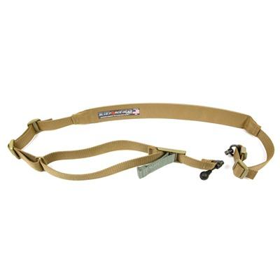 Blue Force Gear - Blue Force Gear Vickers 2-To-1 Red Swivel Sling - Vickers Padded 2-To-1 Red Swivel Sling-Coyote