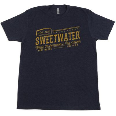 Sweetwater Midnight Navy 1979 T-shirt - Men's Fitted Large