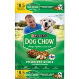 Dog Chow Complete Adult with Real Chicken Dry Dog Food, 18.5-lb bag
