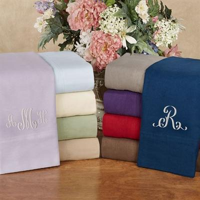 Solid Flannel Sheet Set, California King, Chocolate