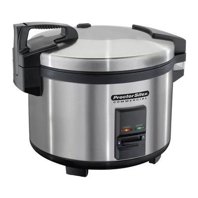Proctor Silex 37540 40 Cup Rice Cooker w/ Auto Cook & Hold, 120v
