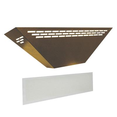 Curtron BL100-GD-COMBO Silent Fly Trap w/ Replacement Glue Boards - 15 Watt UV Light, Covers 900 Sq. Ft., Gold on Sale