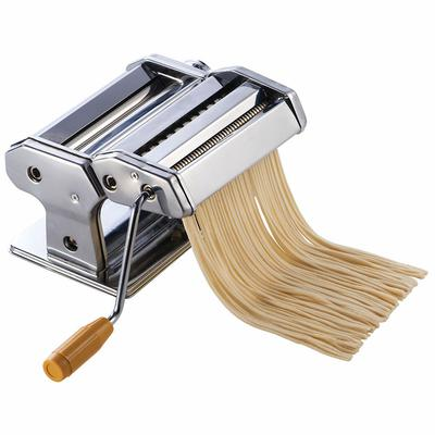 Winco NPM-7 7 Pasta Cutter w/ Detachable Cutter, Stainless on Sale