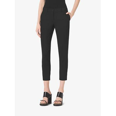 Michael Kors Collection Stretch Wool-Gabardine Trouser Black 2