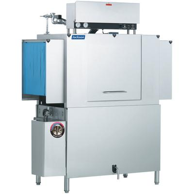 Commercial Dishwasher | Jackson AJX-44 Single Tank Low Temperature Conveyor Dishmachine - Left to Right, 230V, 3 Phase