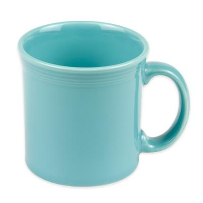 Homer Laughlin 570107 12 oz Fiesta Java Mug - China, Turquoise on Sale