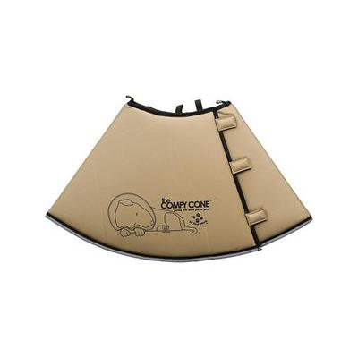 Comfy Cone E-Collar for Dogs & Cats, Tan, X-Large; The Comfy Cone E-Collar for Dogs & Cats is a soft, cone-shaped Elizabethan collar that helps your precious pet heal and recover in comfort from surgeries, procedures, allergic reactions, hot spots and...