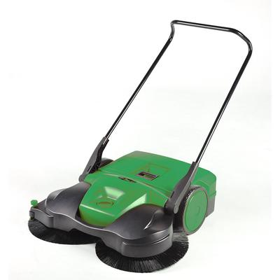 Bissell BG-697 38 Battery-Powered Deluxe Sweeper w/ (3) Brushes, Green on Sale
