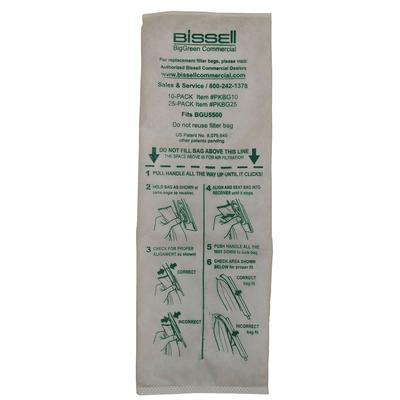 Bissell PKBG10 Vacuum Cleaner Bags for BGU5500 on Sale