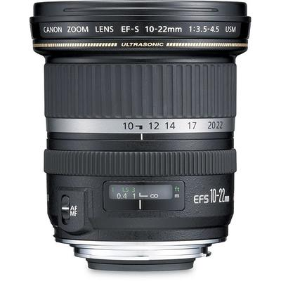 Canon EF-S 10-22 f/3.5-4.5 USM Ultra Wide Zoom Lens on Sale