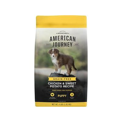 American Journey Chicken & Sweet Potato Recipe Grain-Free Puppy Dry Dog Food, 4-lb bag