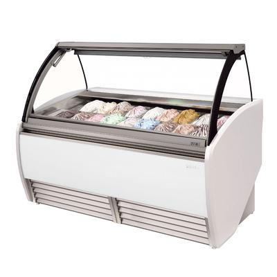 Infrico IDC-VAR15H 64.75 Stand Alone Ice Cream Freezer w/ 16 Pan Capacity, 230v/1ph on Sale