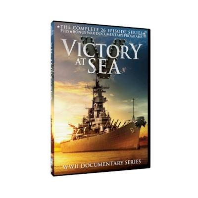85% PRICE DROP: Victory At Sea Complete Series DVD Set