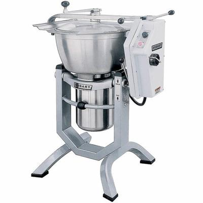 Hobart HCM450-3 45 Qt. Vertical Cutter / Mixer with Knife and Knead Attachments - 460V, 3 Phase, 5 hp