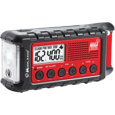 Midland ER310 E+READY Emergency Crank Weather Alert Radio on Sale