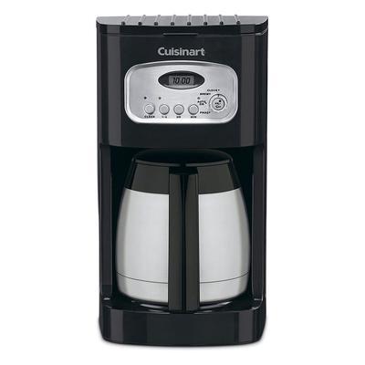 Waring DCC-1150BKW 10 Cup Cuisinart Coffee Maker w/ Glass Carafe - Black/Stainless on Sale