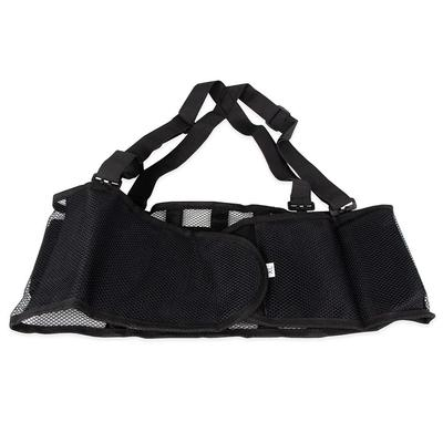 Franklin 280-1251 X-Large Back Support Belt w/ Shoulder Straps - Fits 45 - 49 Hips, Black on Sale
