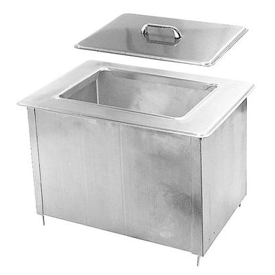 Randell 9510IC 40 lb Drop-In Ice Bin - 21 x 14.5, Stainless on Sale