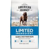American Journey Limited Ingredient Grain-Free Salmon & Sweet Potato Recipe Dry Dog Food, 4-lb bag