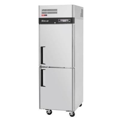 Turbo Air M3RF19-2-N 25 One Section Commercial Refrigerator Freezer, Solid Doors, Top Compressor 115v on Sale