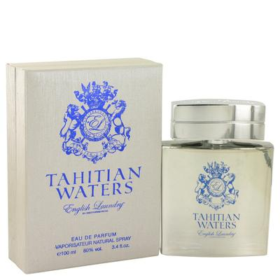 Tahitian Waters For Men By English Laundry Eau De Parfum Spray 3.4 Oz