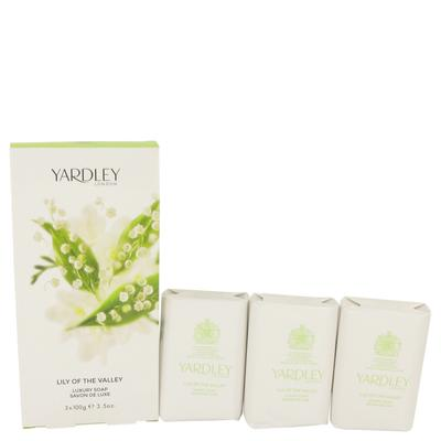 Lily Of The Valley Yardley For Women By Yardley London 3 X 3.5 Oz Soap 3.5 Oz