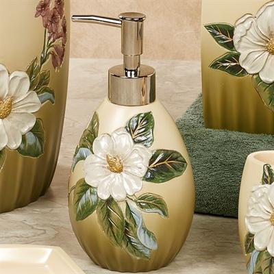 Sweet Magnolia Lotion Soap Dispenser Fern , Fern