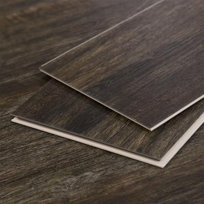 Cali Vinyl, Dark Vinyl Floor Planks, Rapid-Locking System, Sample
