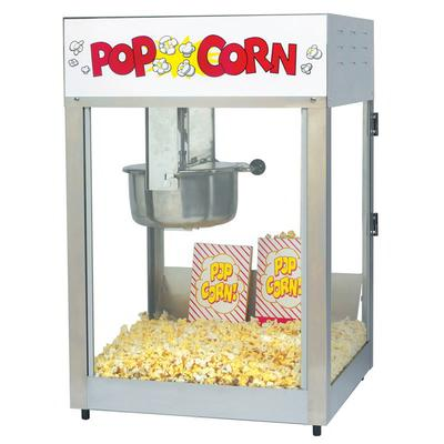 Gold Medal 2389 Lil Max Popcorn Machine w/ 8 oz Kettle & Stainless Dome, 120v on Sale