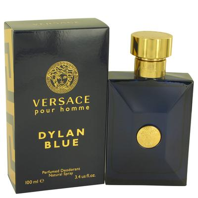 Versace Pour Homme Dylan Blue For Men By Versace Deodorant Spray 3.4 Oz