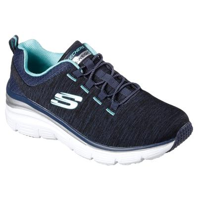 Skechers Women's Fashion Fit - Up A Level Navy 6.5