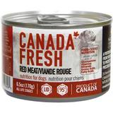Canada Fresh Red Meat Canned Dog Food, 6.5-oz, case of 24
