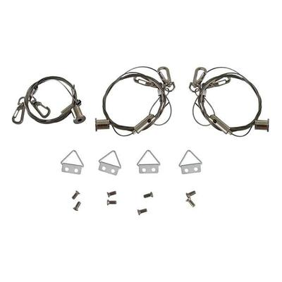 Keystone 01505 - Cable Hanging Kit for Keystone LED�Panel�Lights (Includes 3 Cable Sets) (KT-PLED-CABLE-KIT)