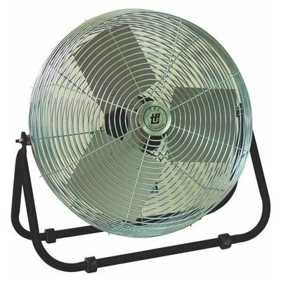 TPI F-12-TE 12 Industrial Floor Fan w/ (3) Speeds - Steel, 120v on Sale