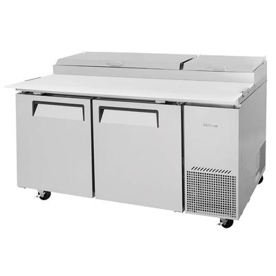 Turbo Air TPR-67SD-N 67 Pizza Prep Table w/ Refrigerated Base, 115v on Sale