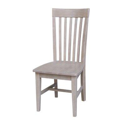 Gracie Oaksgracie Oaks Dorsey Solid Wood Dining Chair Wood Solid Wood In Gray Size 22 L X 18 1 W X 40 2 H Wayfair Grks2311 39828860 Dailymail