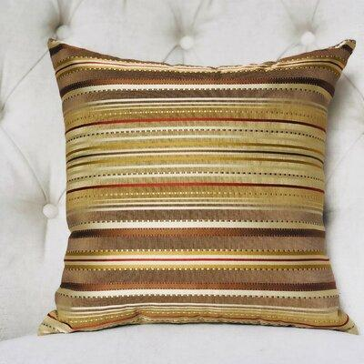 Tribal Bronze Gold Pillow Cover   Gold