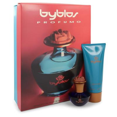 Byblos For Women By Byblos Gift Set - 1.68 Oz Eau De Parfum Spray + 6.75 Body Lotion --