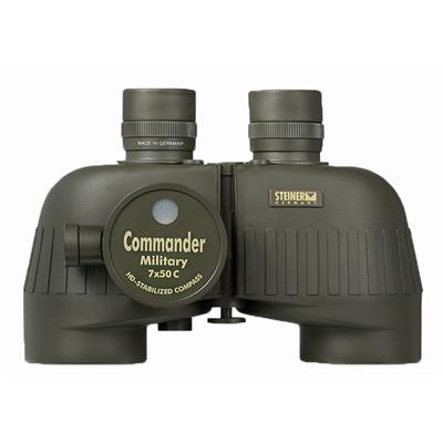 Steiner Optics M750rc 7x50mm Military Series Binoculars - 7x50mm Green Military Series Binoculars