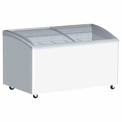 Excellence Industries VB-3HC 31.5 Stand Alone Ice Cream Freezer w/ 3 Baskets Capacity - White, 115v on Sale