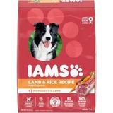 Iams ProActive Health Adult Lamb & Rice Formula Dry Dog Food, 15-lb bag