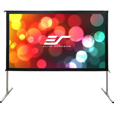Elite Screens OMS100H2-Dual Outdoor Projection Screen 100""