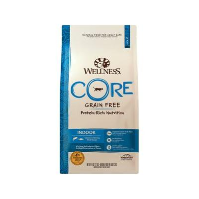 Wellness CORE Grain-Free Indoor Salmon & Herring Meal Recipe Dry Cat Food, 5-lb bag