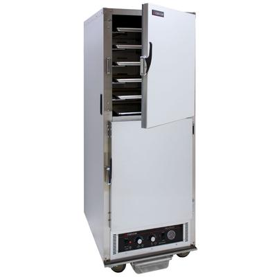 Cres Cor H-135-WSUA-11 Full Height Insulated Mobile Heated Cabinet w/ (11) Pan Capacity, 120v