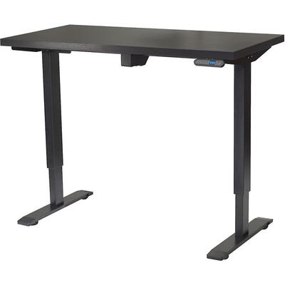 MotionWise SDG48B Motorized Lift Desk -Jet Black