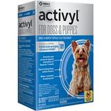 Activyl Flea Treatment for Toy Dogs & Puppies, 4-14 lbs, 6 treatments